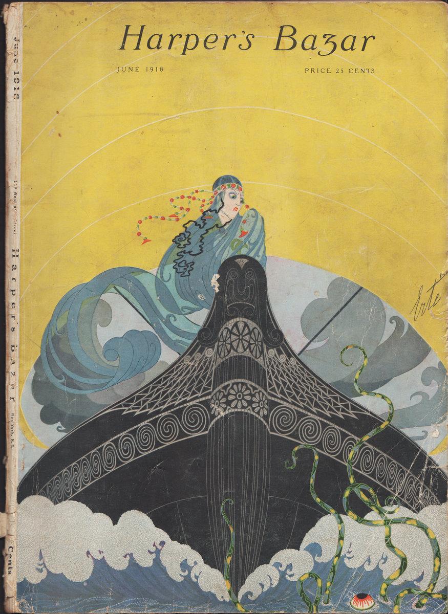 Harpers Bazar Bazaar 1918 June