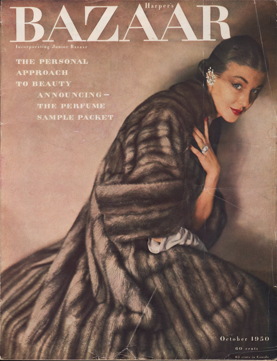 "Image for Harper's Bazaar, October 1950 Bolte's ""I Meet Edmund Lowe""; Hale's ""All Girls Together Again""; Goyen's ""The Storm Doll""; Tracy's ""A Blossom Viewing""; Heilbron's ""The Widow and the Will""; Stalling's  ""Paris for a Campus""; Wright's Poem; Fain's ""The Neglected Positive"""