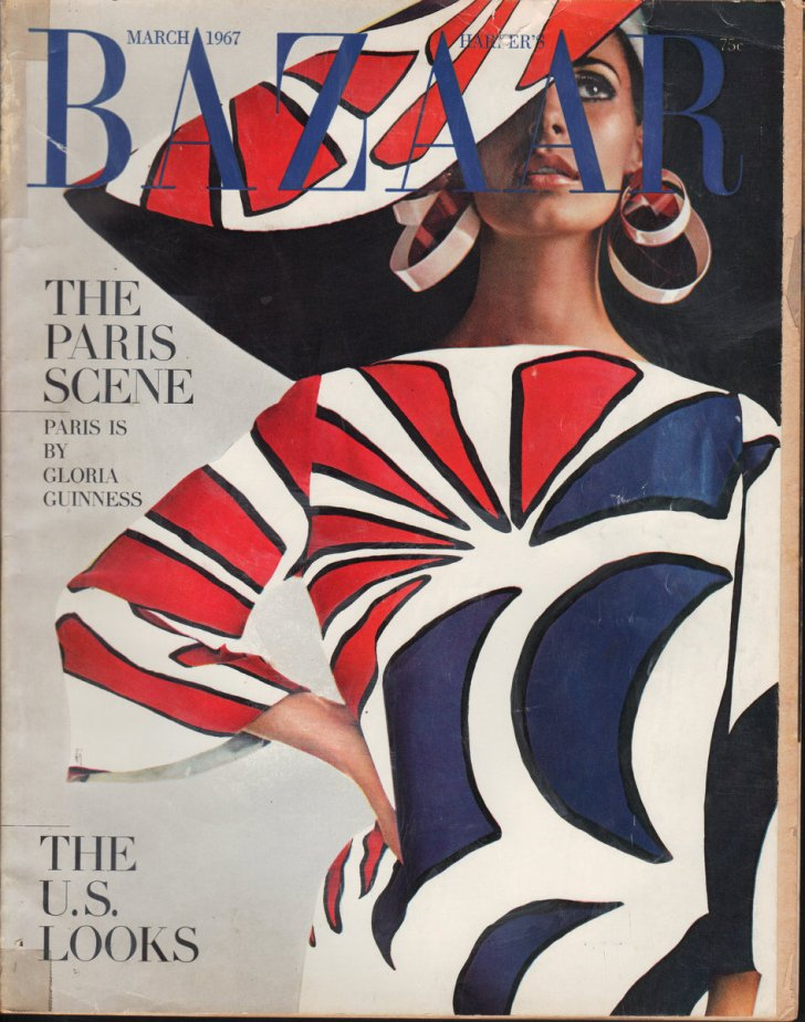 "Image for Harper's Bazaar, March 1967 King's ""I lived for you""; Helsing's ""Further Memoirs of a Lover""; Hentoff's ""Oh Hegeman, My Love"""