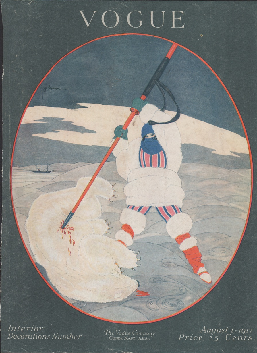 Image for Vogue Magazine Cover Only 1917 August 1
