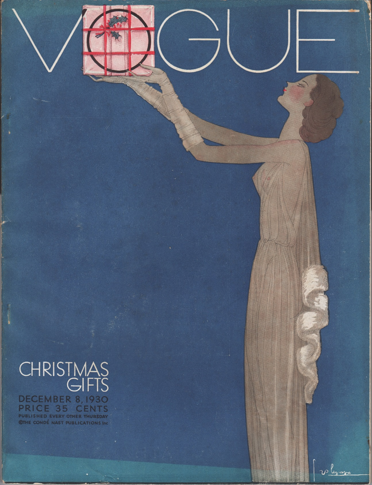 Image for Vogue Magazine December 8, 1930