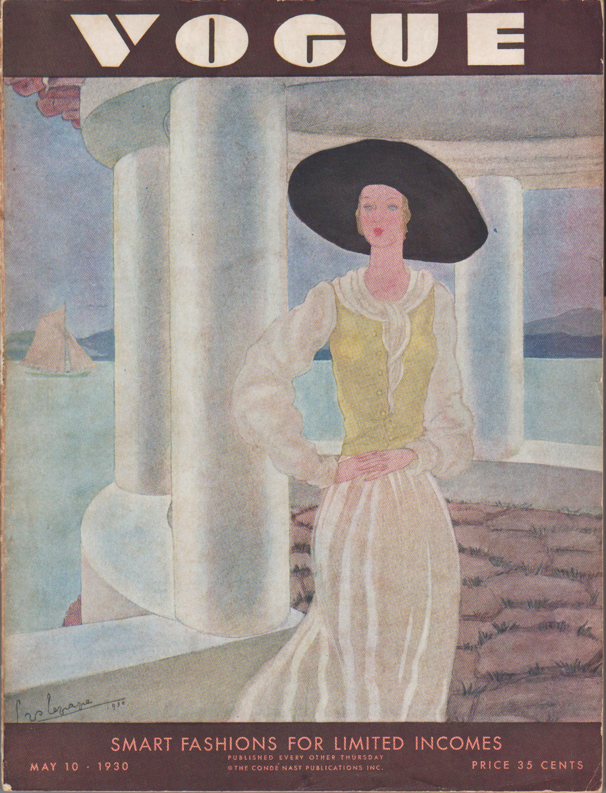 Image for Vogue Magazine May 10, 1930