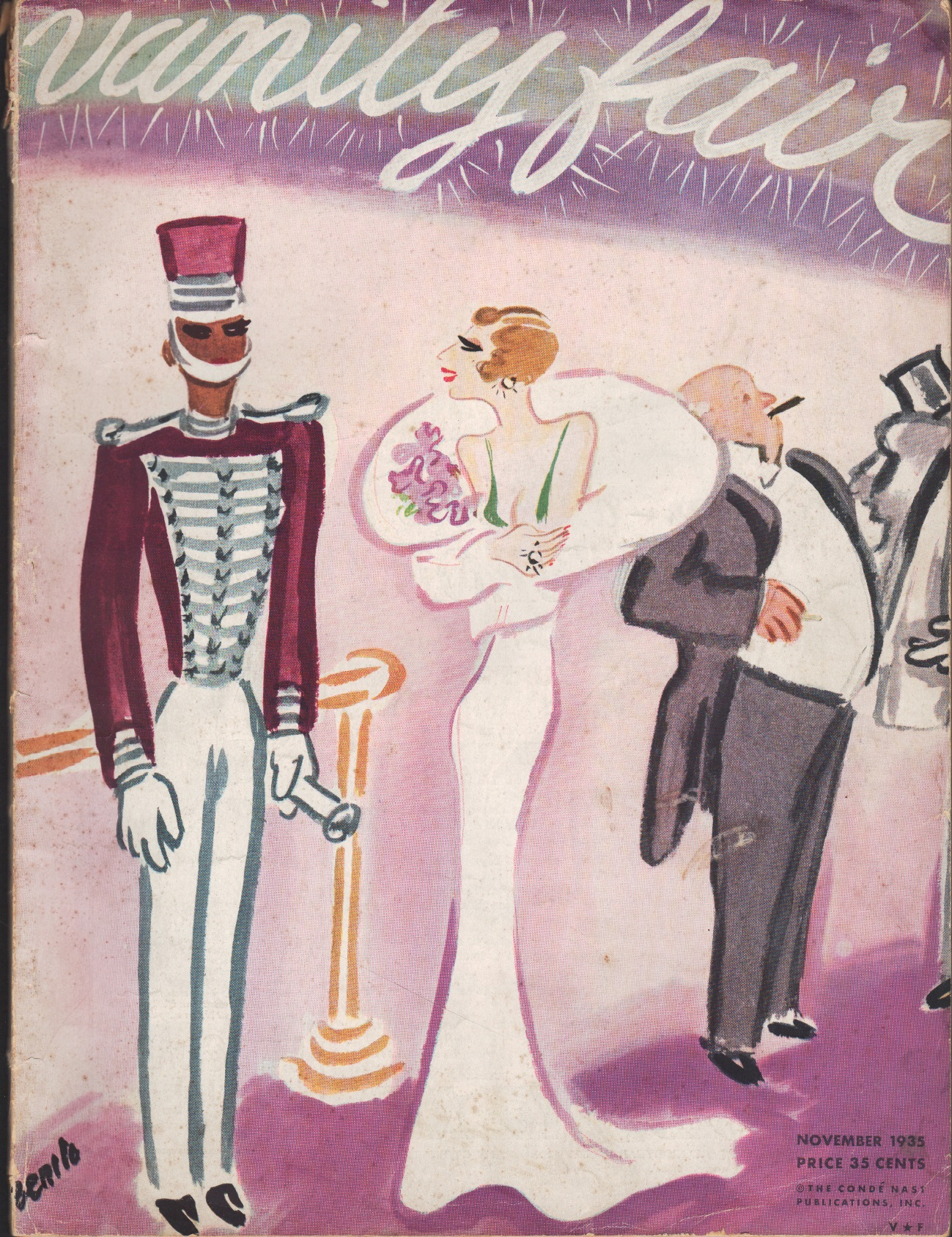 Image for Vanity Fair Magazine, November 1935 Issue