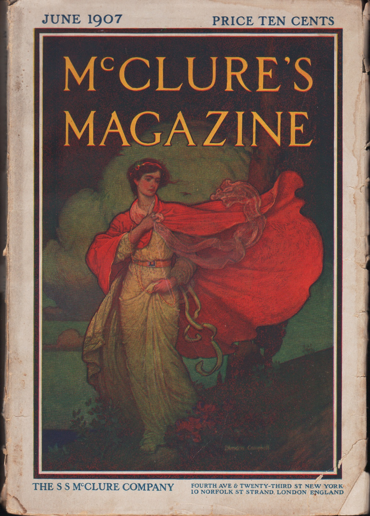 Image for McClure's Magazine, June 1907