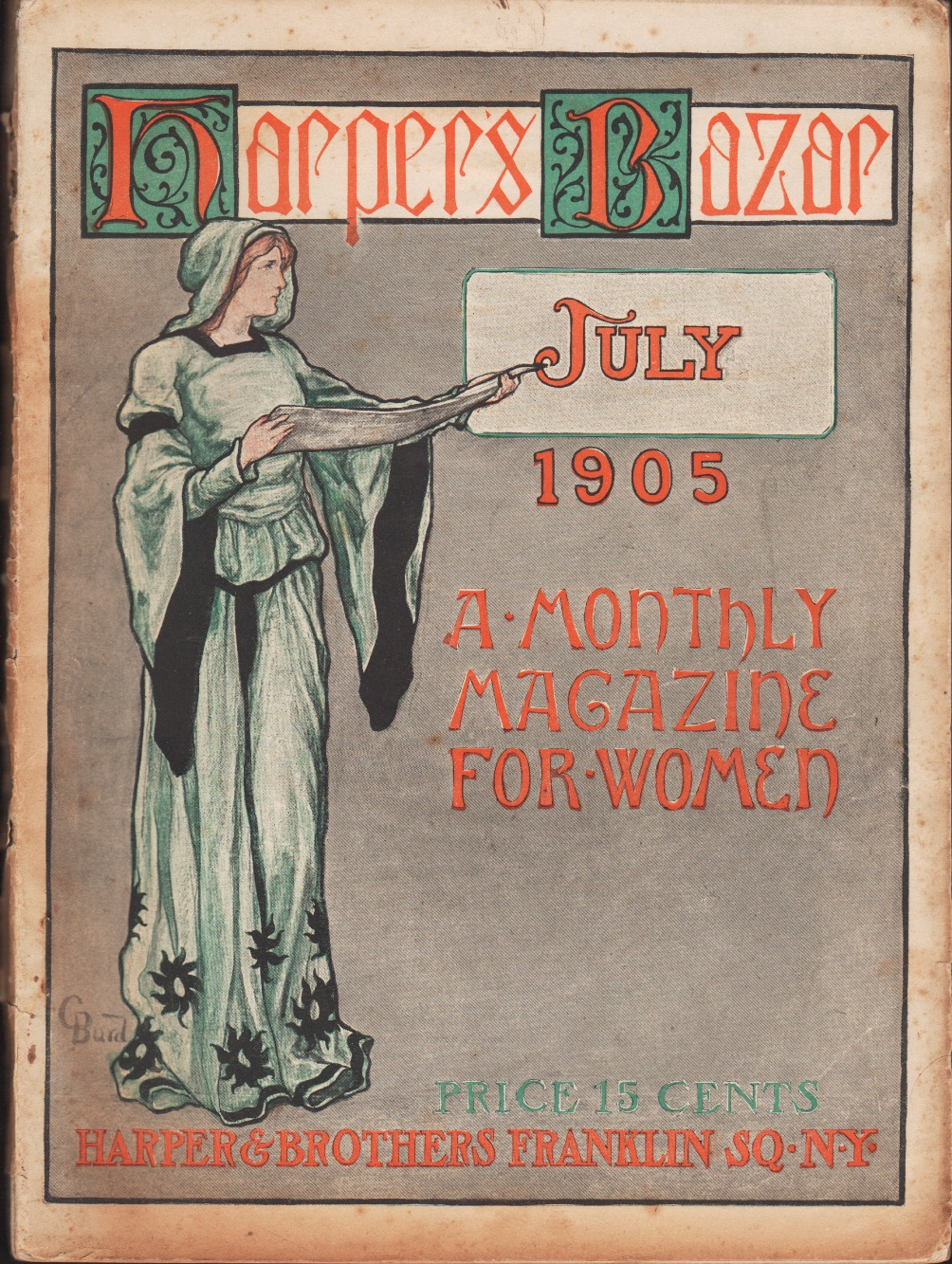 Image for Harper's Bazar, July 1905