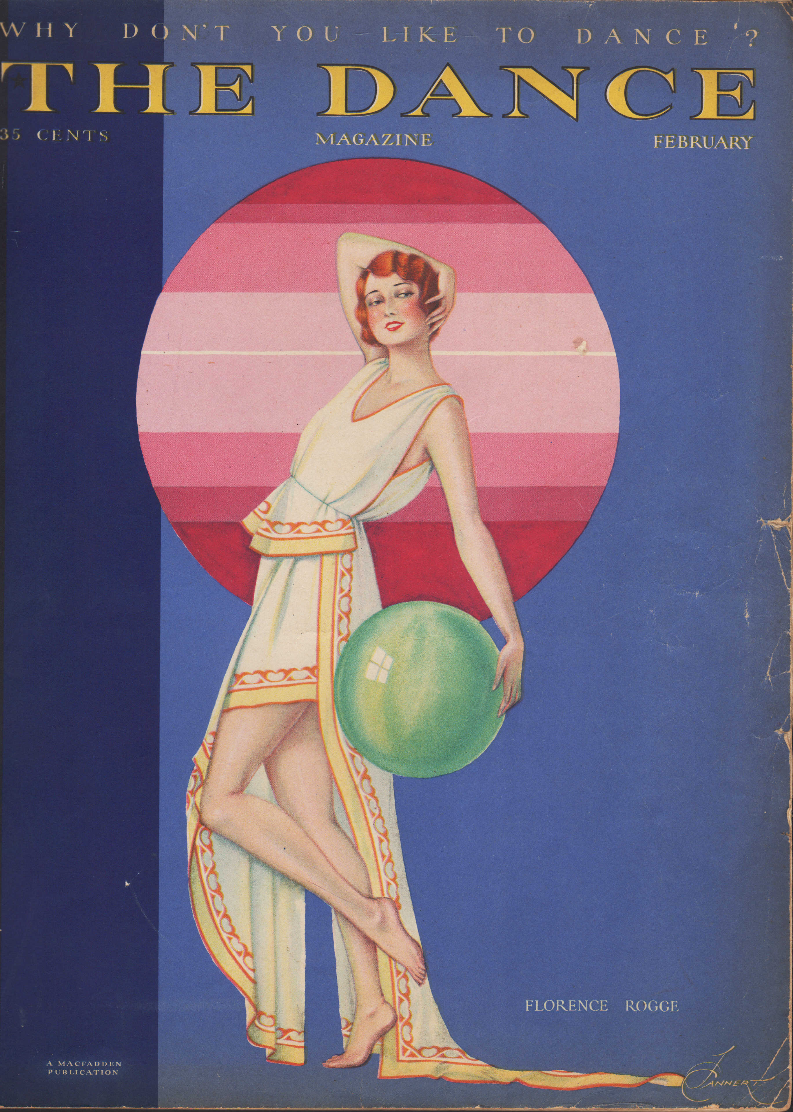 Image for The Dance Magazine, February 1930 Why Don't You Like to Dance?