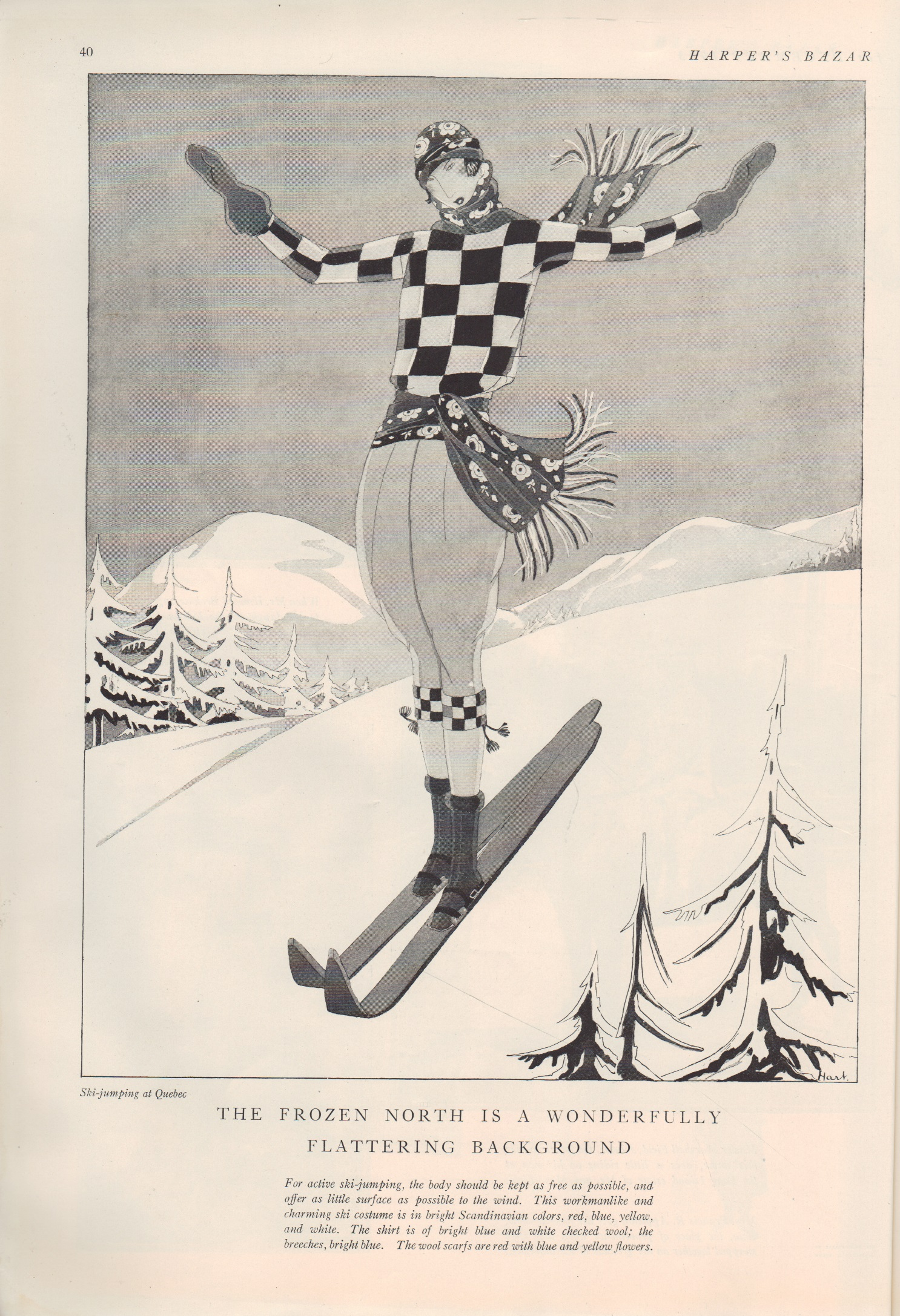 Image for Harper's Bazar [Bazaar], December 1923 Christmas Number