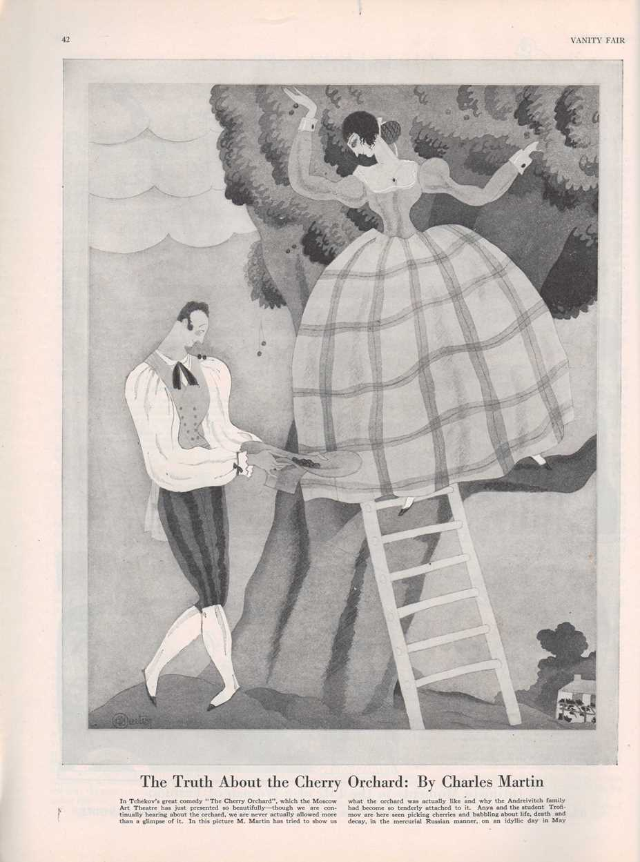 Image for Vanity Fair Magazine, April, 1923