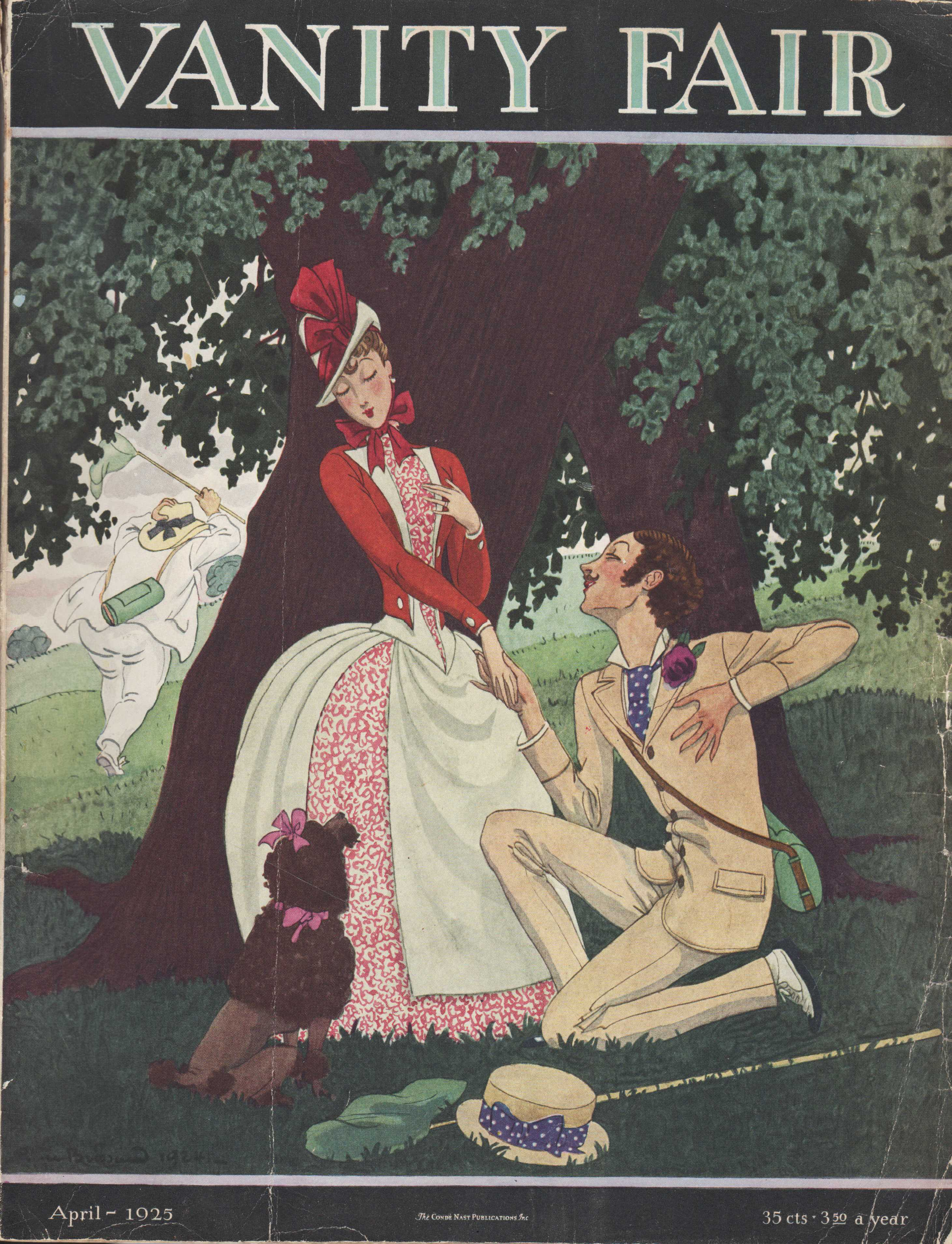 Image for Vanity Fair Magazine, April, 1925