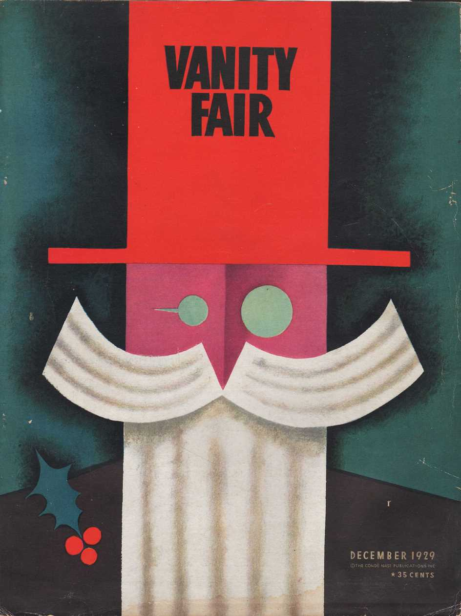 Image for Vanity Fair Magazine, December, 1929 - Cover Only