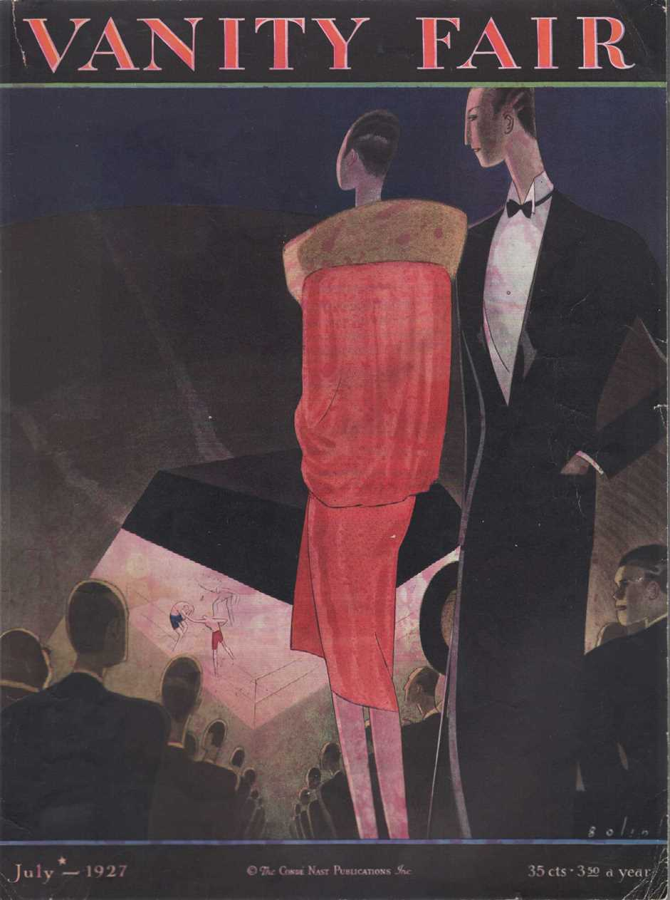 Image for Vanity Fair Magazine, July, 1927 - Cover Only