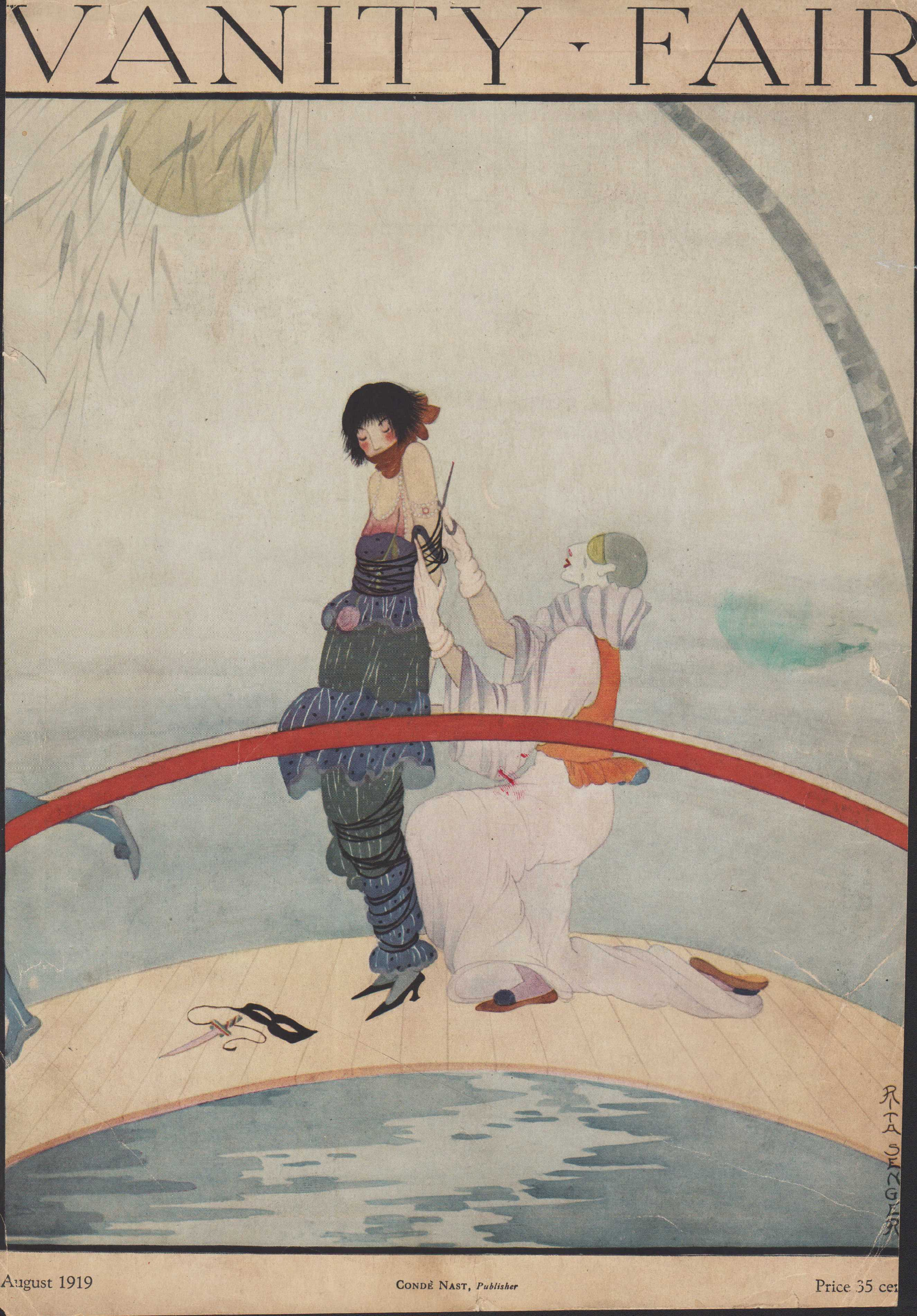 Image for Vanity Fair Magazine, August, 1919 - Cover Only