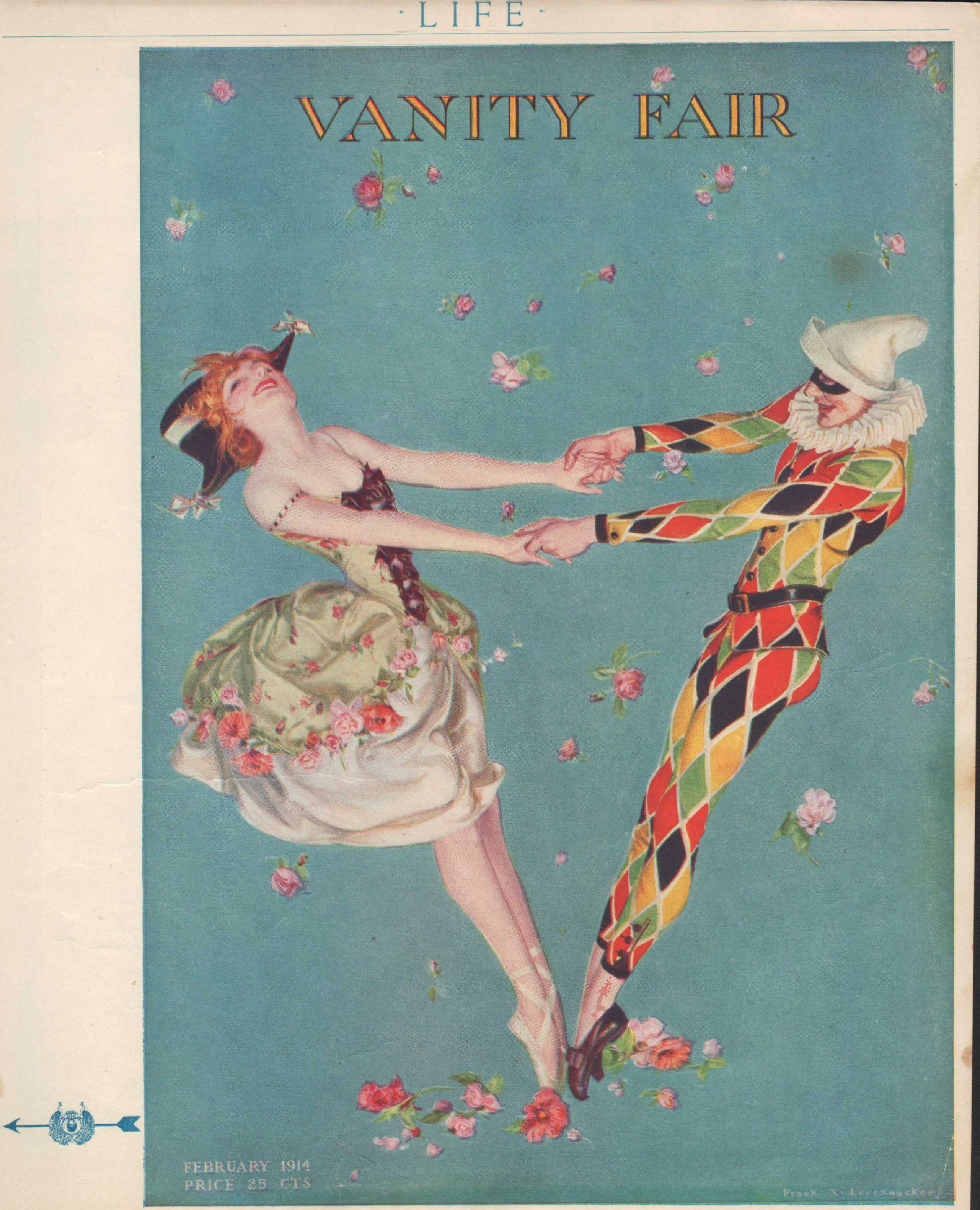 Image for Life Magazine Advertisement for Vanity Fair, February 5, 1914