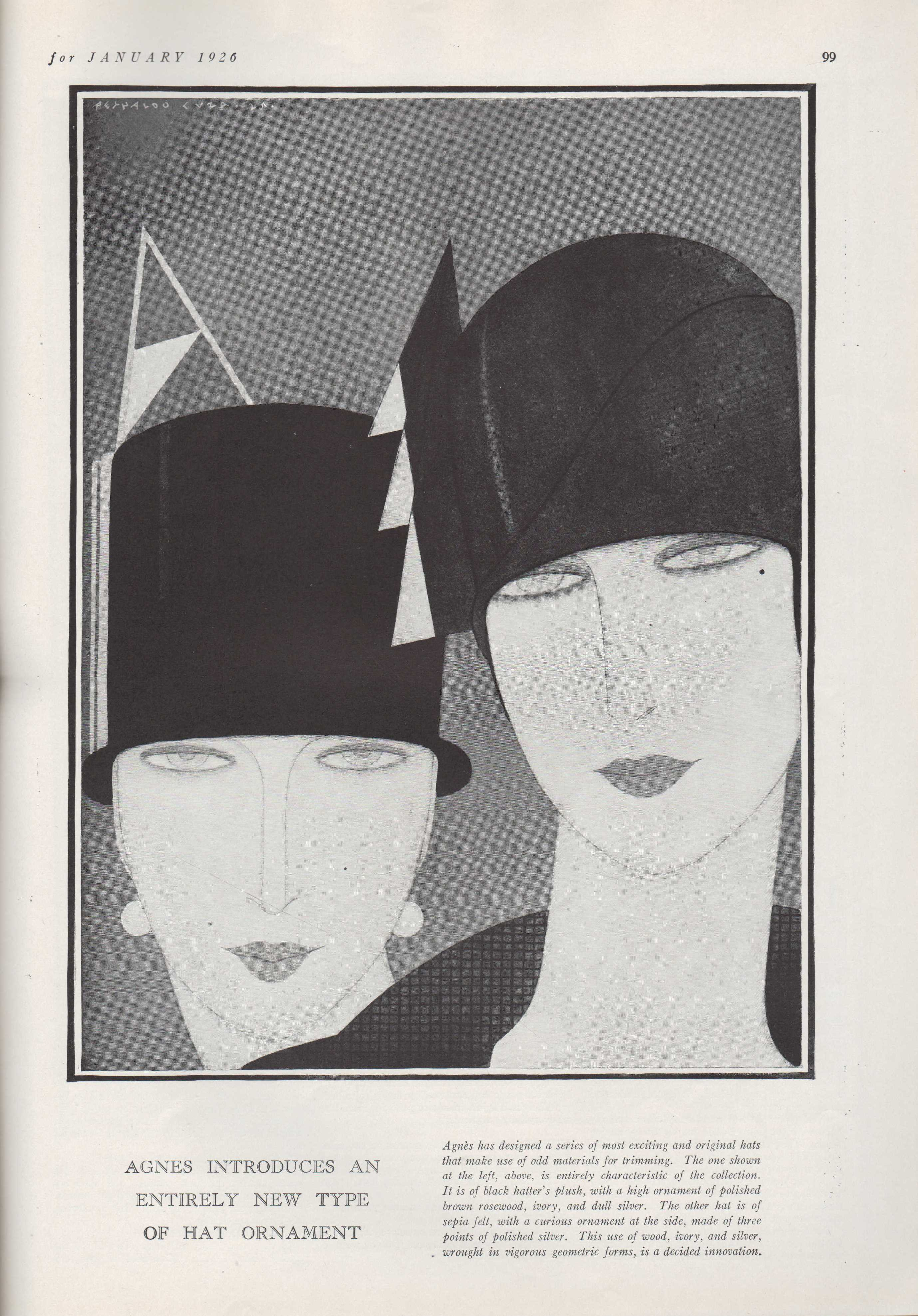 Image for Harper's Bazar, January, 1926