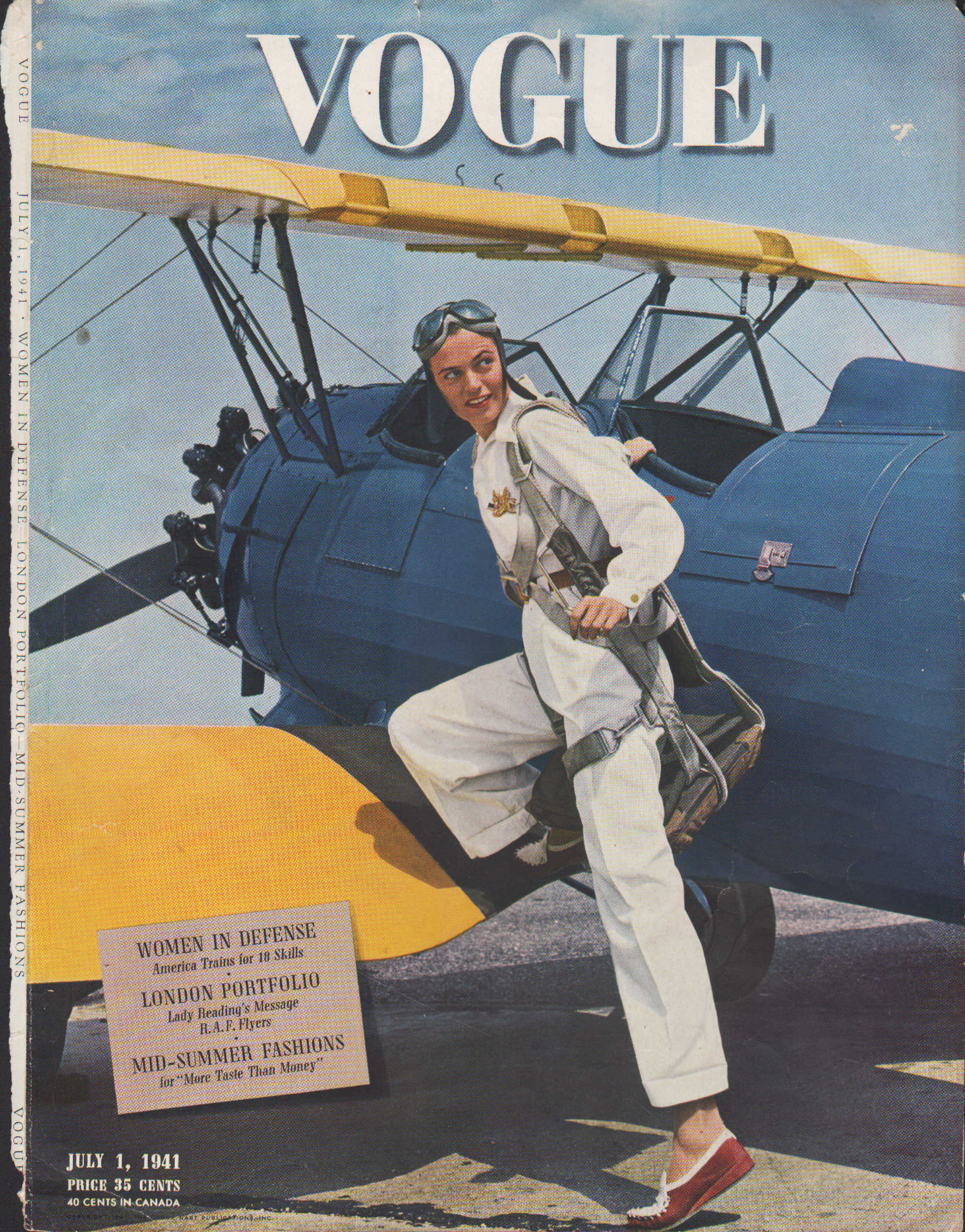 Image for Vogue Magazine, July 1, 1941 - Cover Only