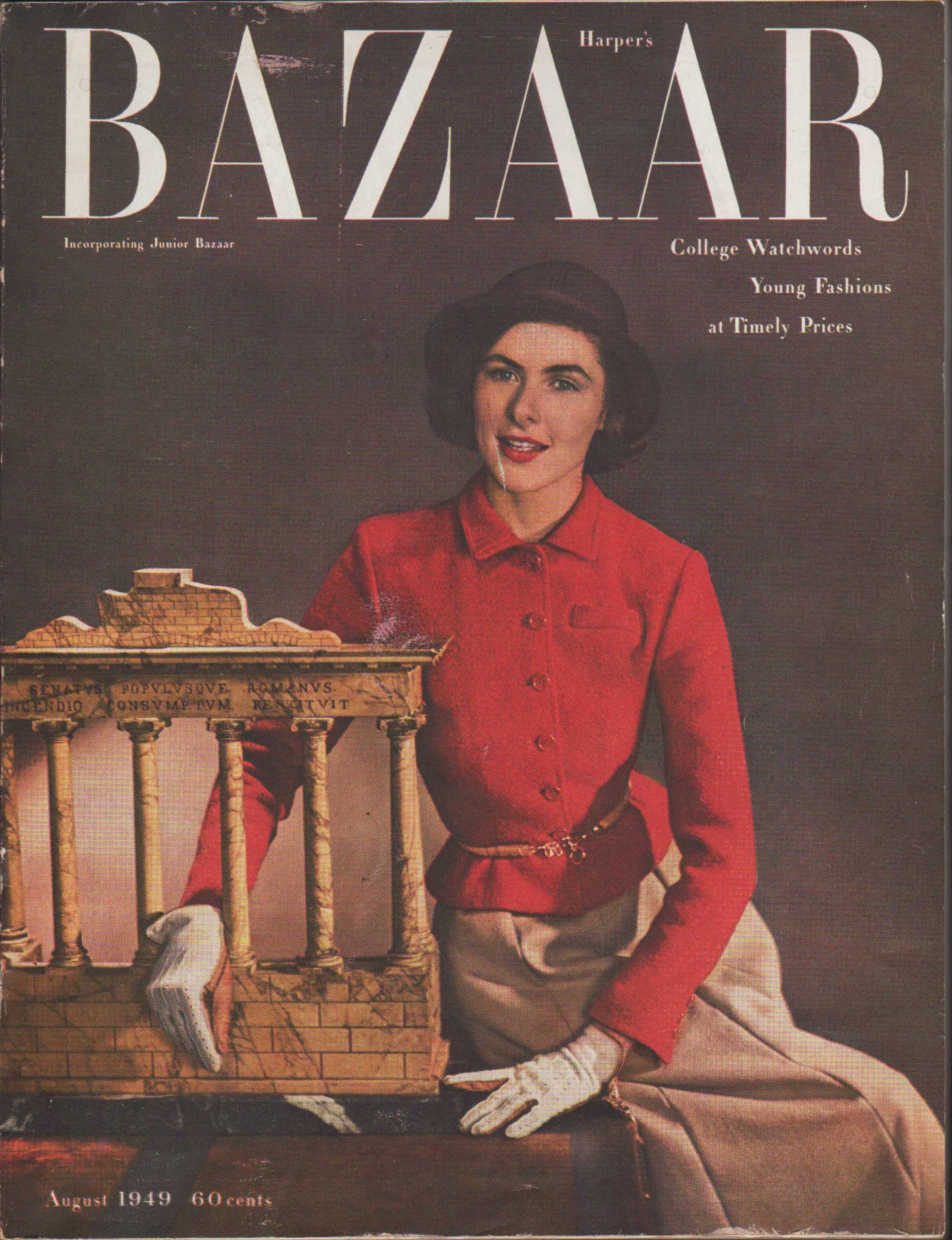 Image for Harper's Bazaar, August, 1949