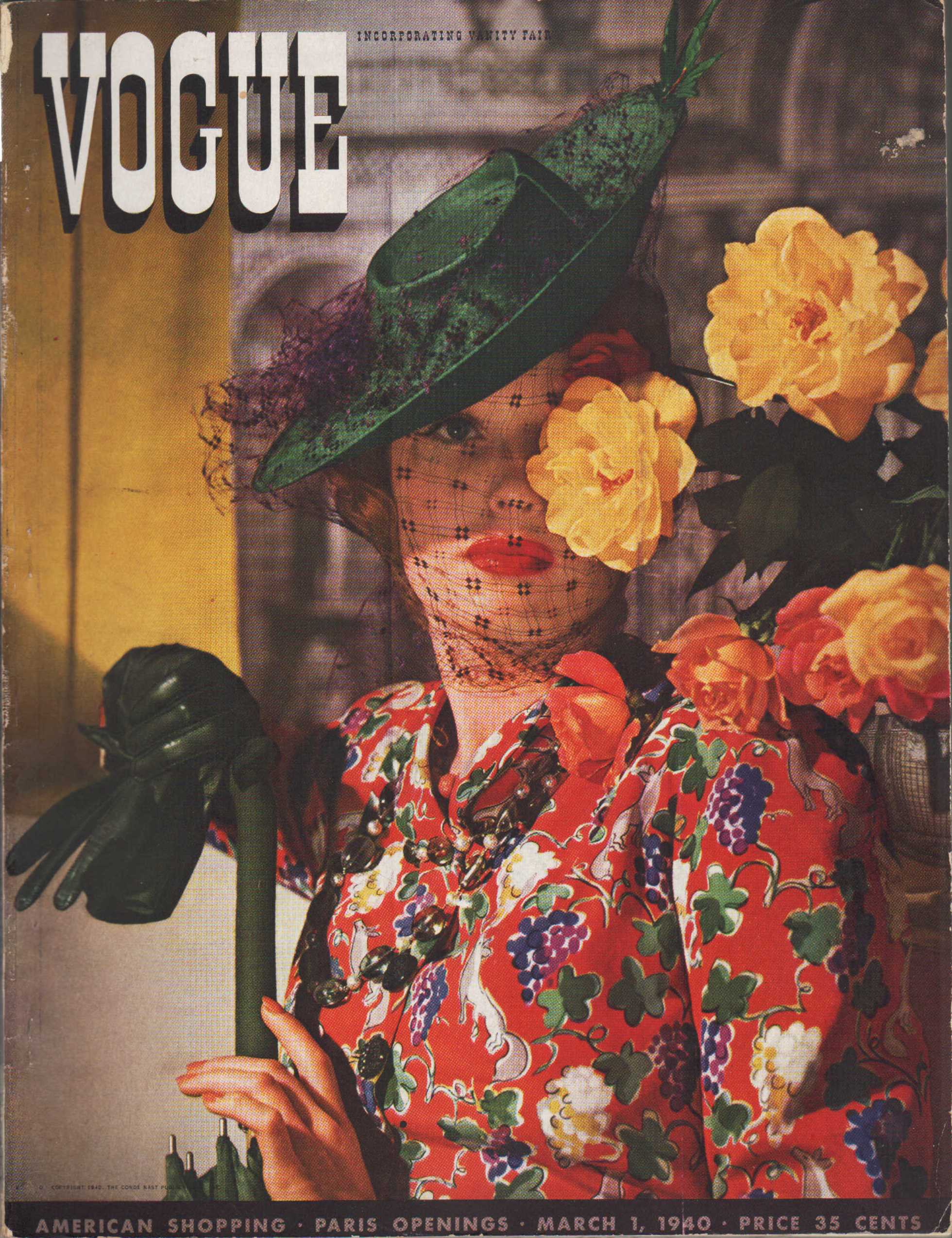 Image for Vogue Magazine, March 1, 1940
