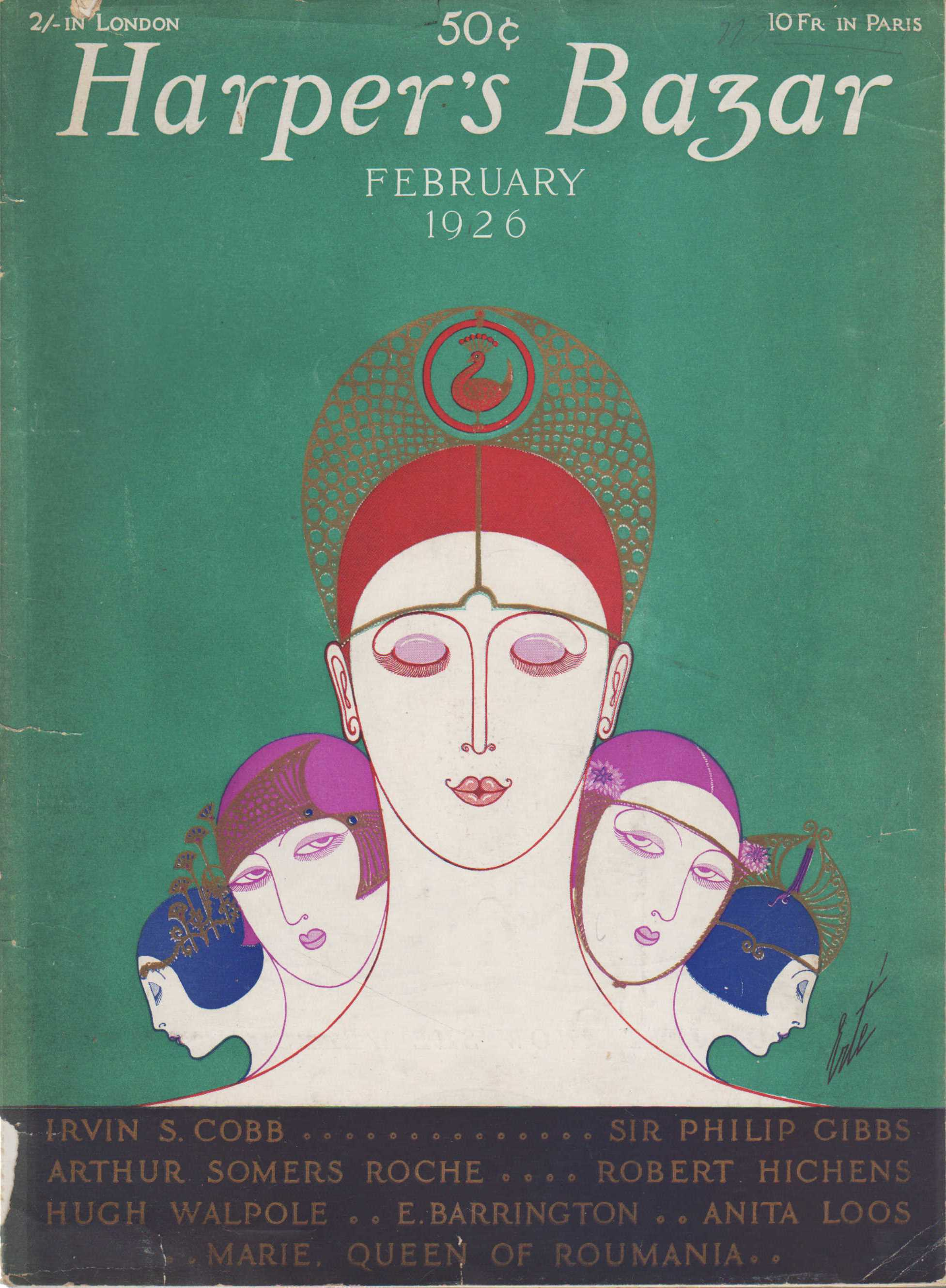 Image for Harper's Bazaar, February, 1926