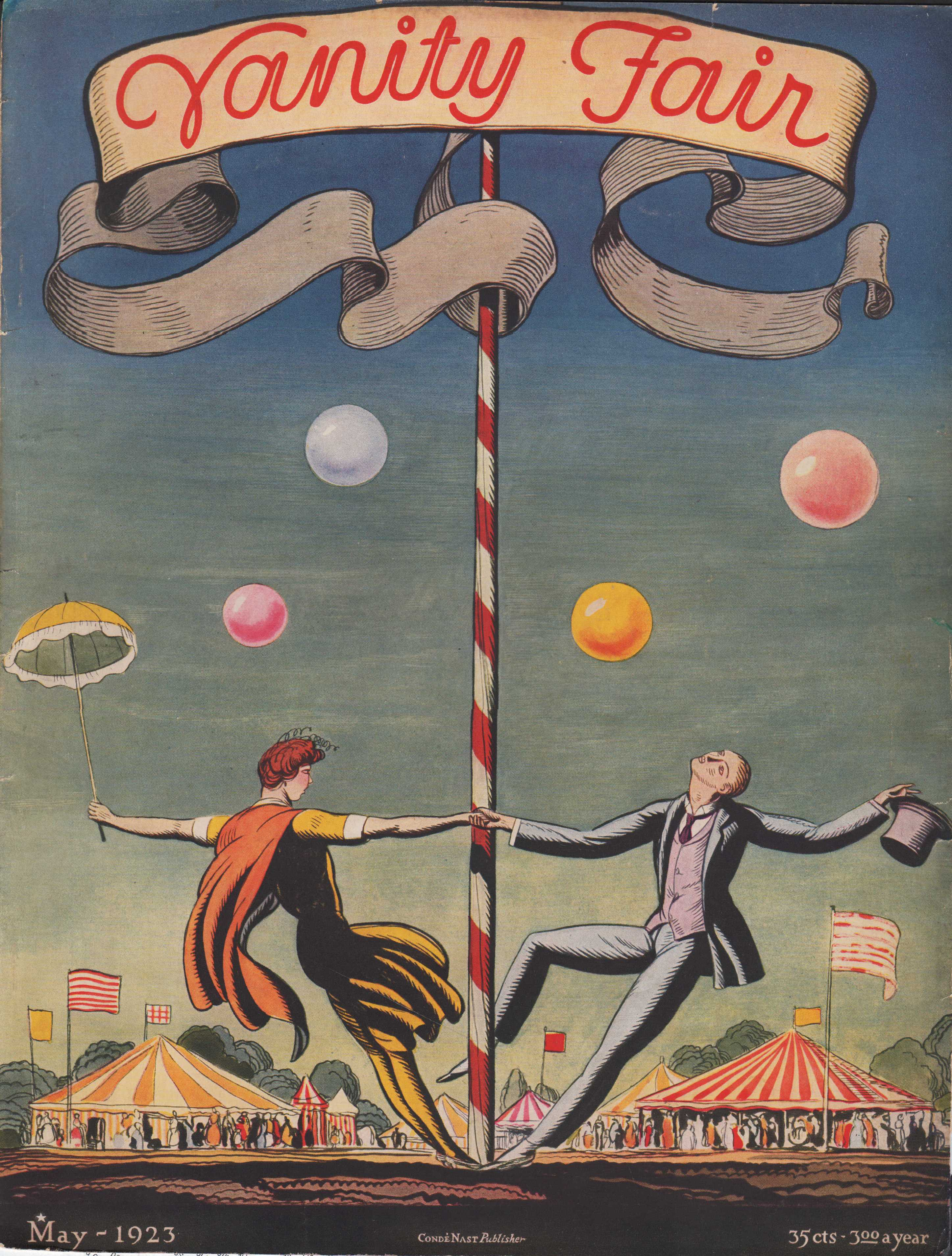 Image for Vanity Fair Magazine, May, 1923, Cover Only