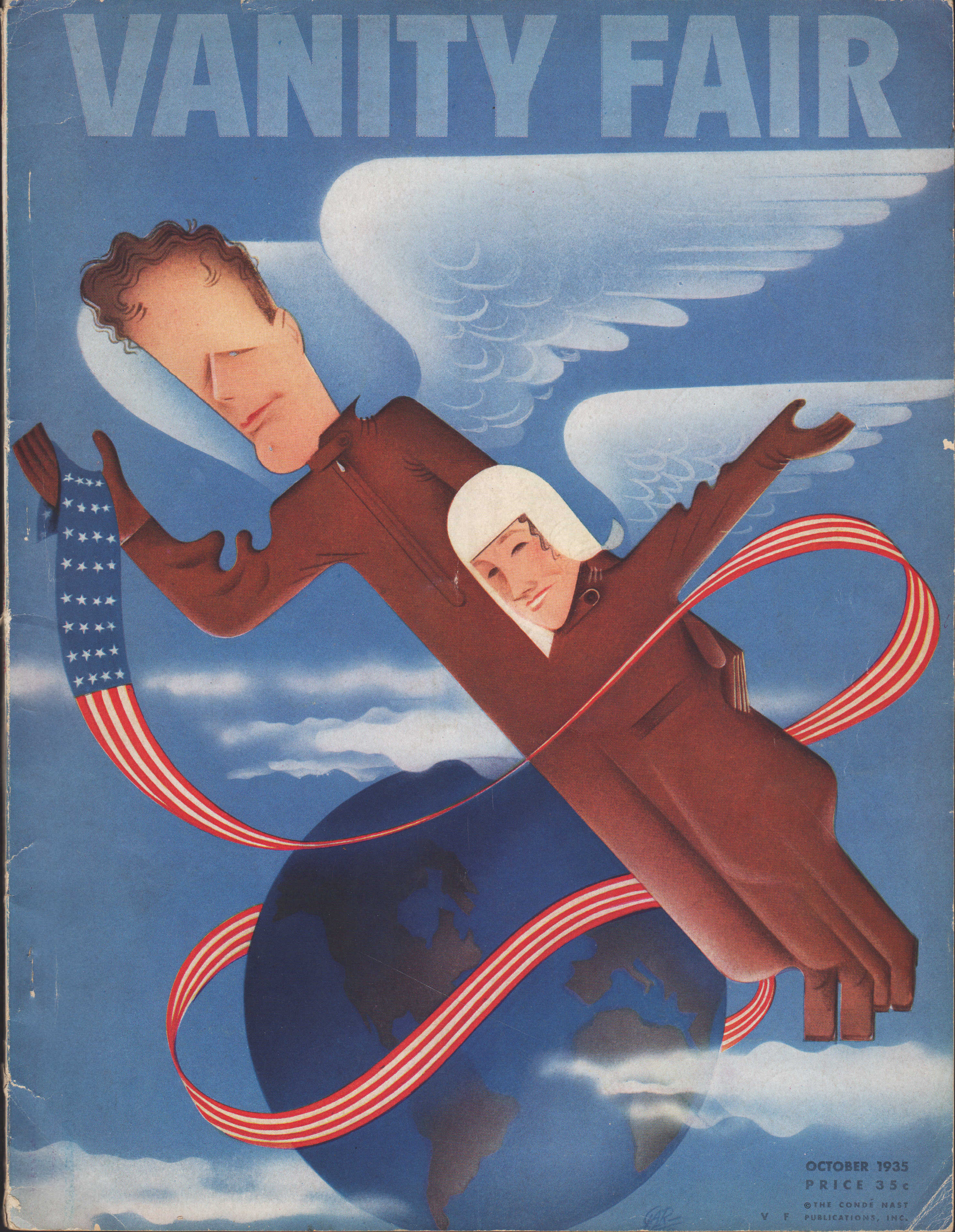 Image for Vanity Fair Magazine, October, 1935