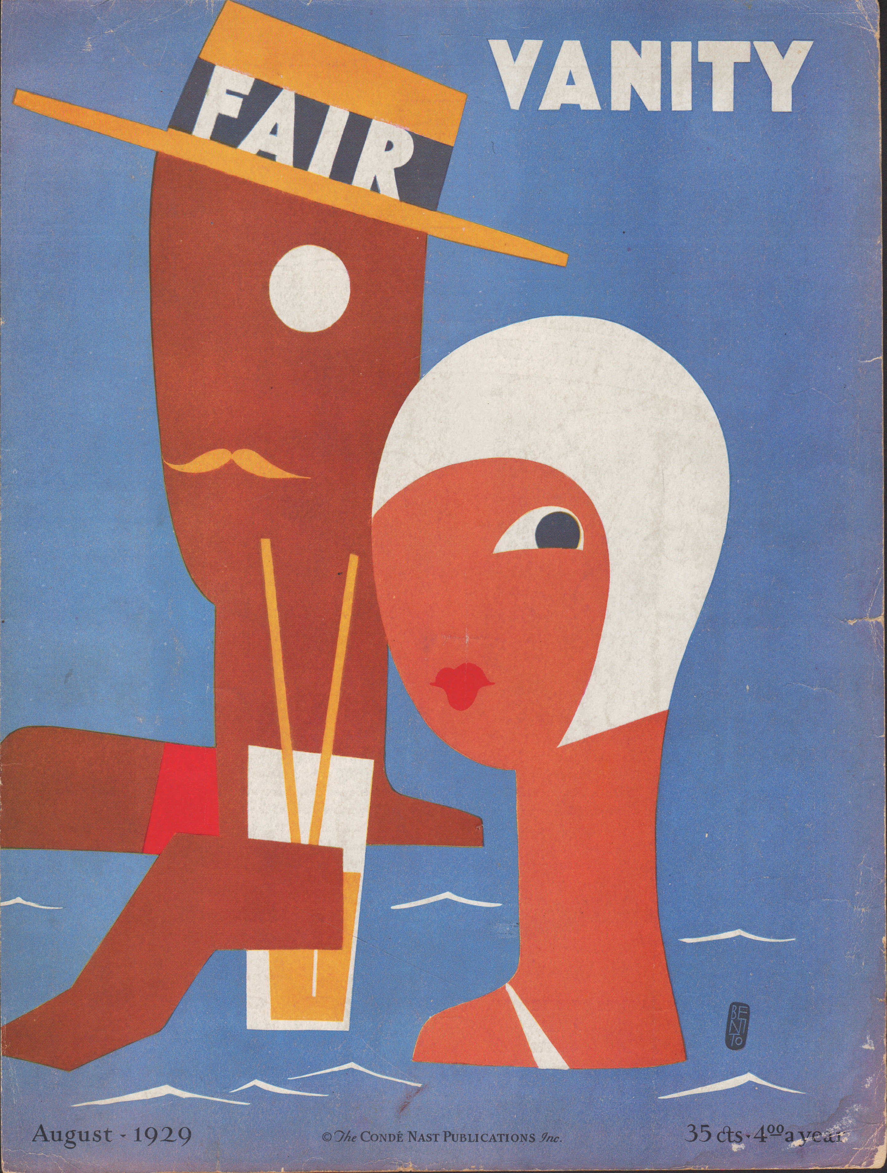 Image for Vanity Fair Magazine, August, 1929 - Cover Only