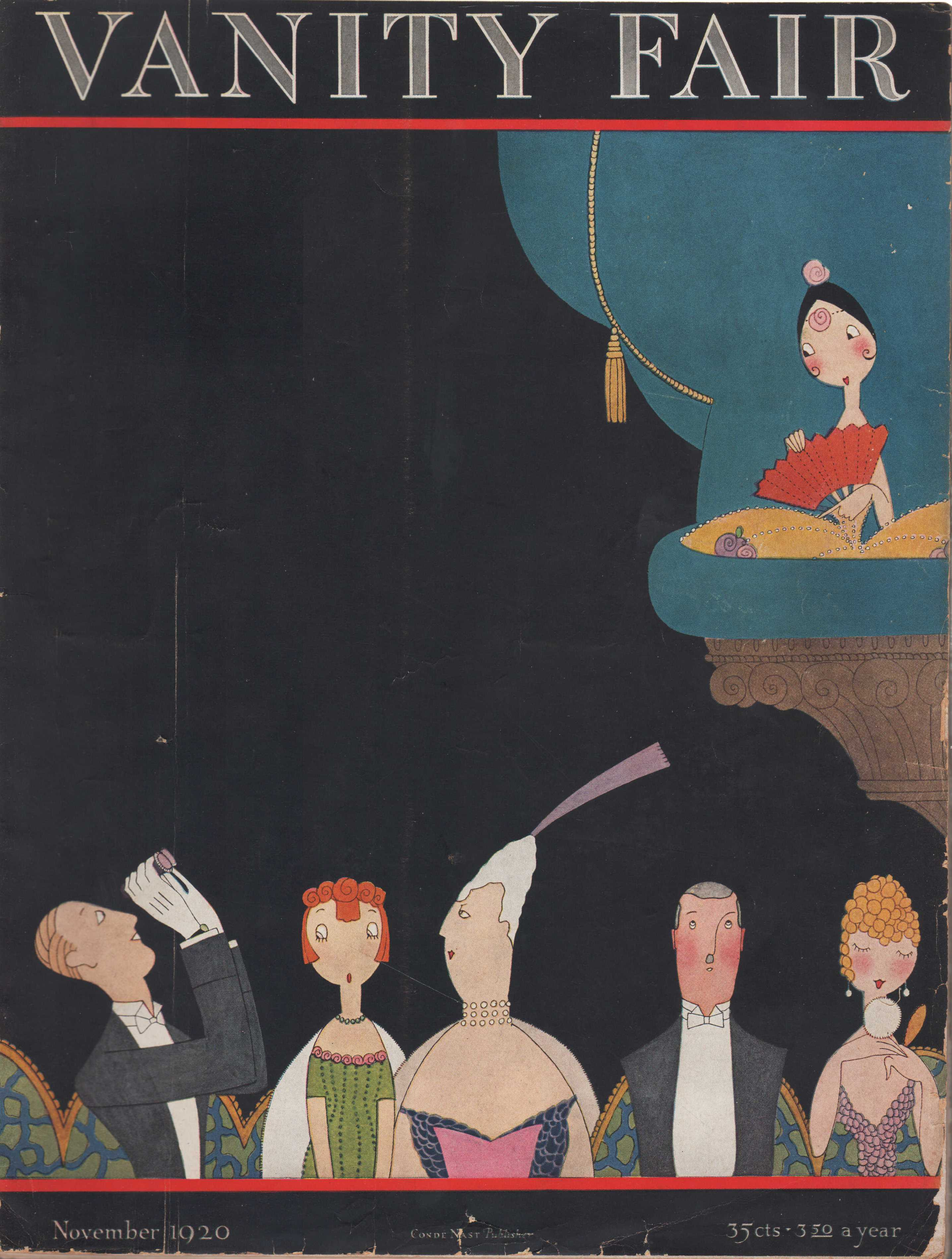 Image for Vanity Fair Magazine, November, 1920