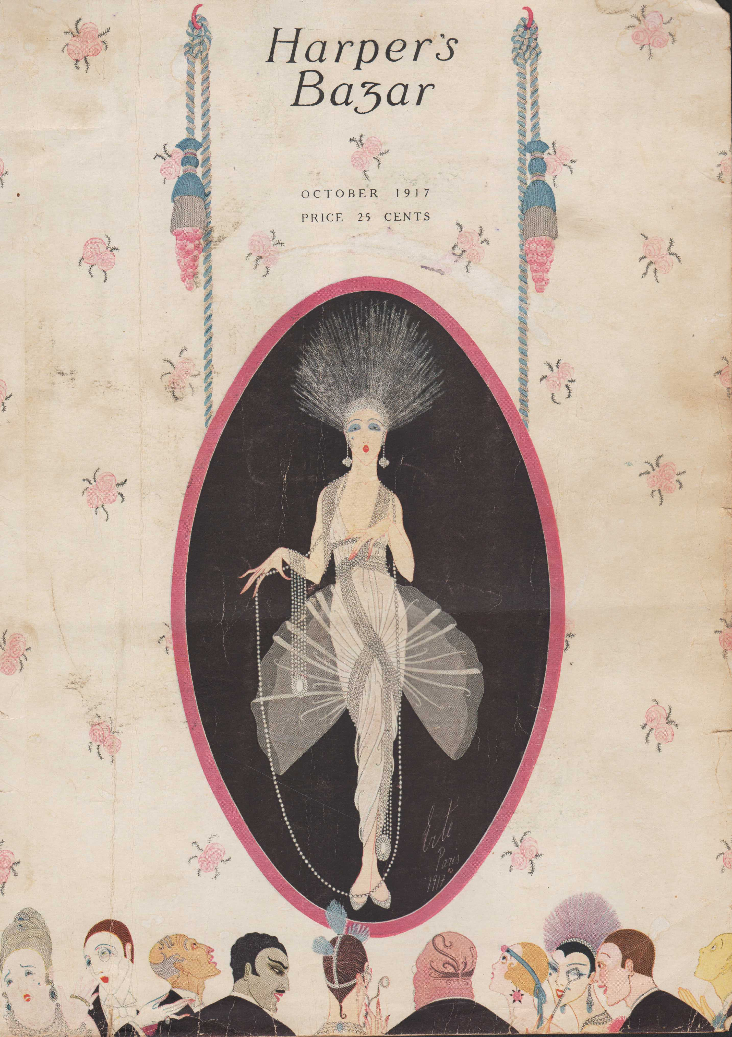 Image for Harper's Bazar (Harper's Bazaar). October 1917 - Cover Only