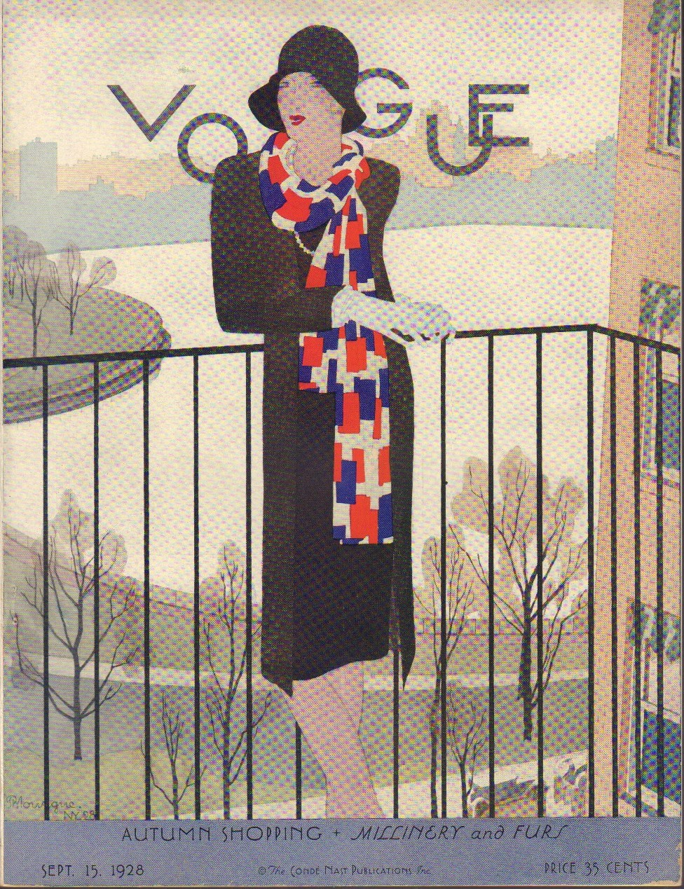"Image for ""Vogue Magazine September 15, 1928."""