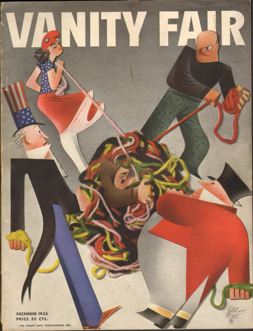Image for Vanity Fair December 1933 Issue (Magazine)