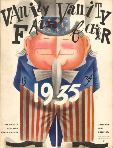 Image for Vanity Fair January 1935 Issue (Magazine)