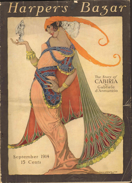 Image for Harpers Bazar (Harper's Bazaar) 1914 September  (Magazine)