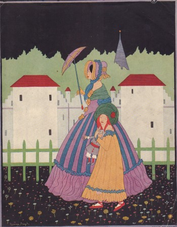 Image for Vogue Magazine. August 15, 1915 - Cover Only