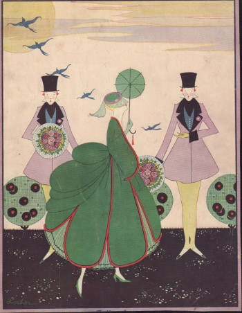 """Image for """"Vogue Magazine. March 15, 1916 - Cover Only"""""""