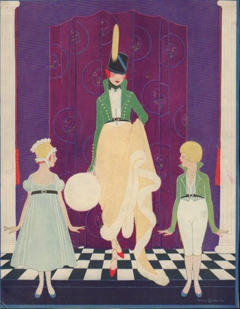 Image for Vogue Magazine. November 1, 1916 - Cover Only