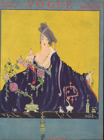 """Image for """"Vogue Magazine. November 15, 1916 - Cover Only"""""""