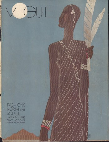 Image for Vogue Magazine. January 1, 1933 - Cover Only