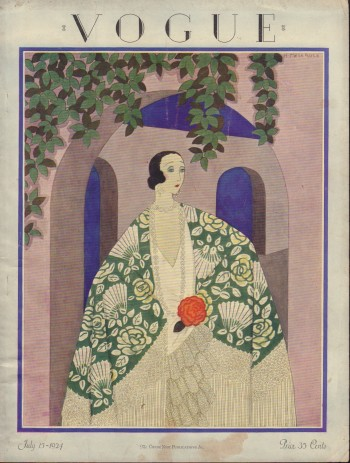 Image for Vogue Magazine. July 15, 1924 - Cover Only
