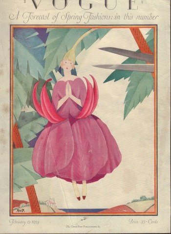 Image for Vogue Magazine. February 15, 1924 - Cover Only