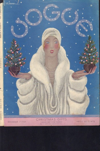 Image for Vogue Magazine. December 7, 1929 - Cover Only
