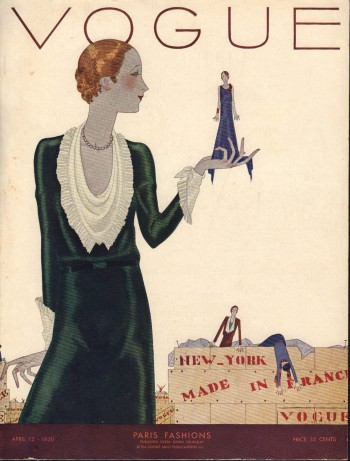 Image for Vogue Magazine. April 12, 1930 - Cover Only