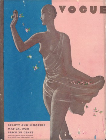 Image for Vogue Magazine. May 24, 1930 - Cover Only