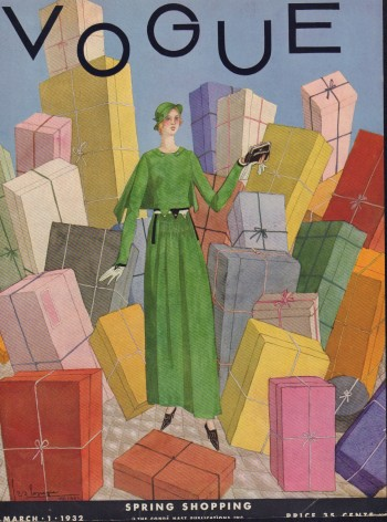 Image for Vogue Magazine. March 1, 1932 - Cover Only