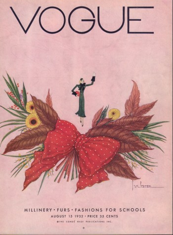 Image for Vogue Magazine. August 15, 1932 - Cover Only
