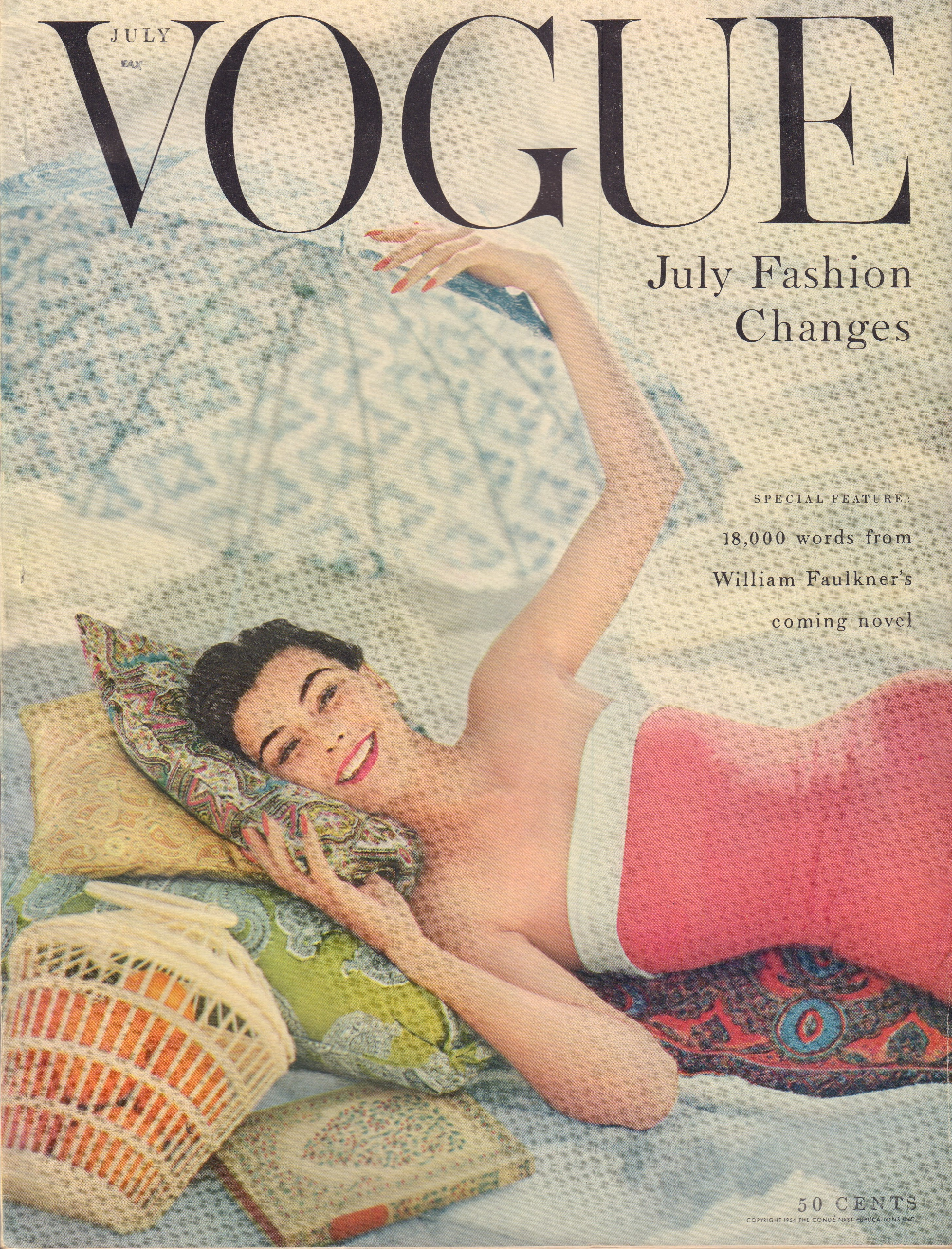 Image for Vogue Magazine. July 1954