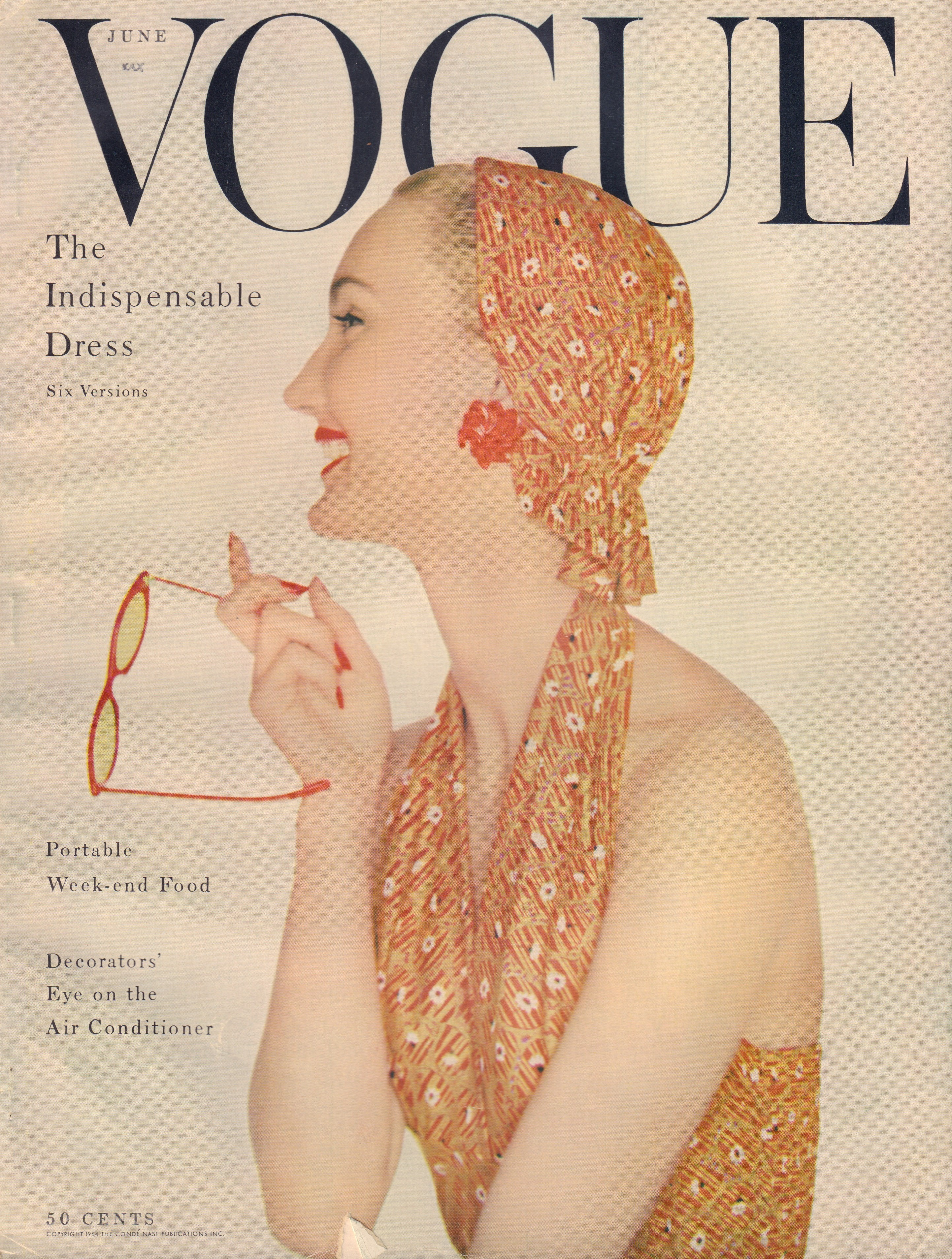 Image for Vogue Magazine. June, 1954
