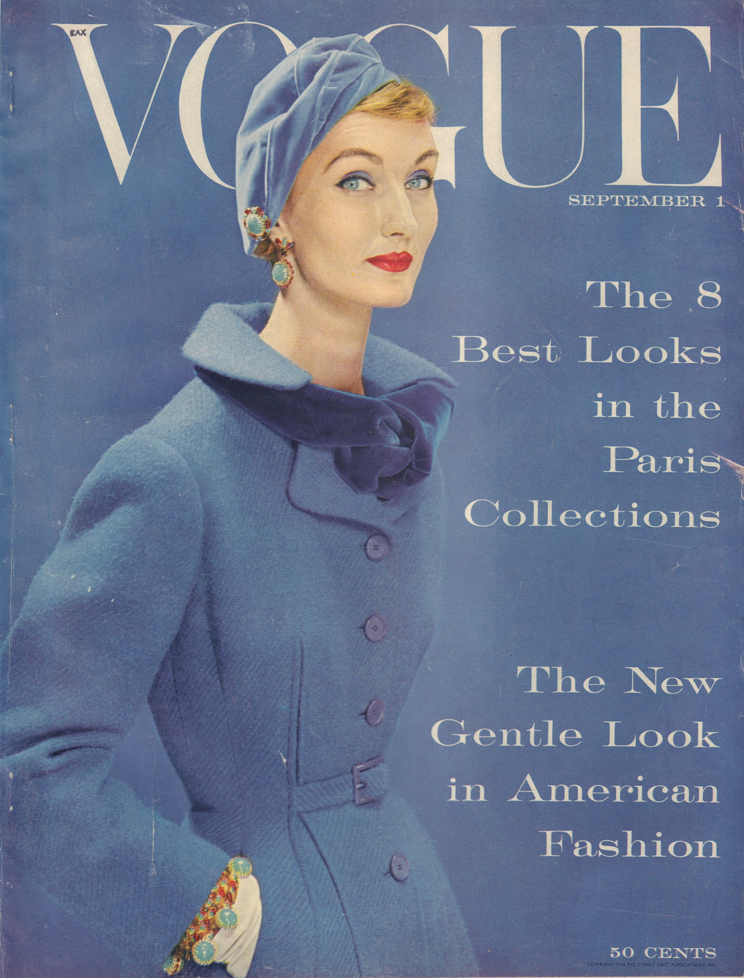 Image for Vogue Magazine. September 1, 1954