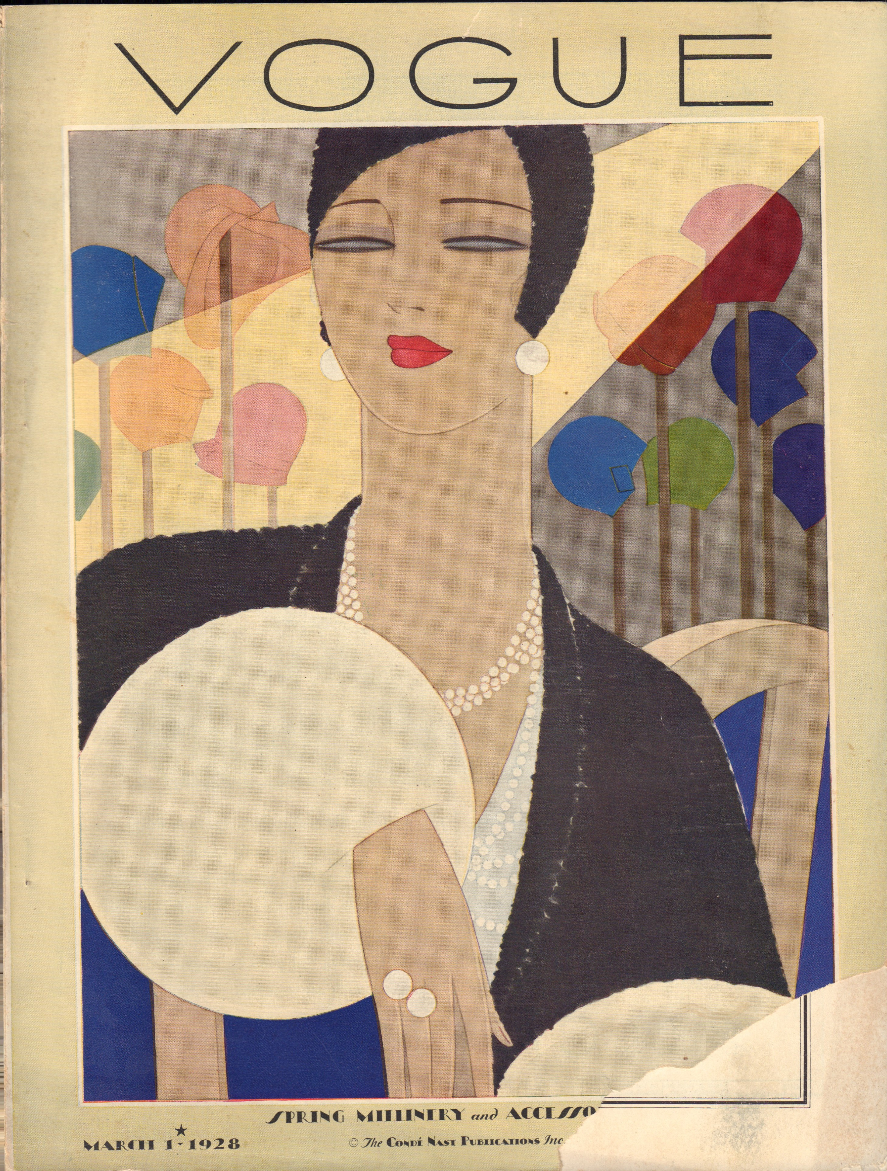 Image for Vogue Magazine. March 1, 1928