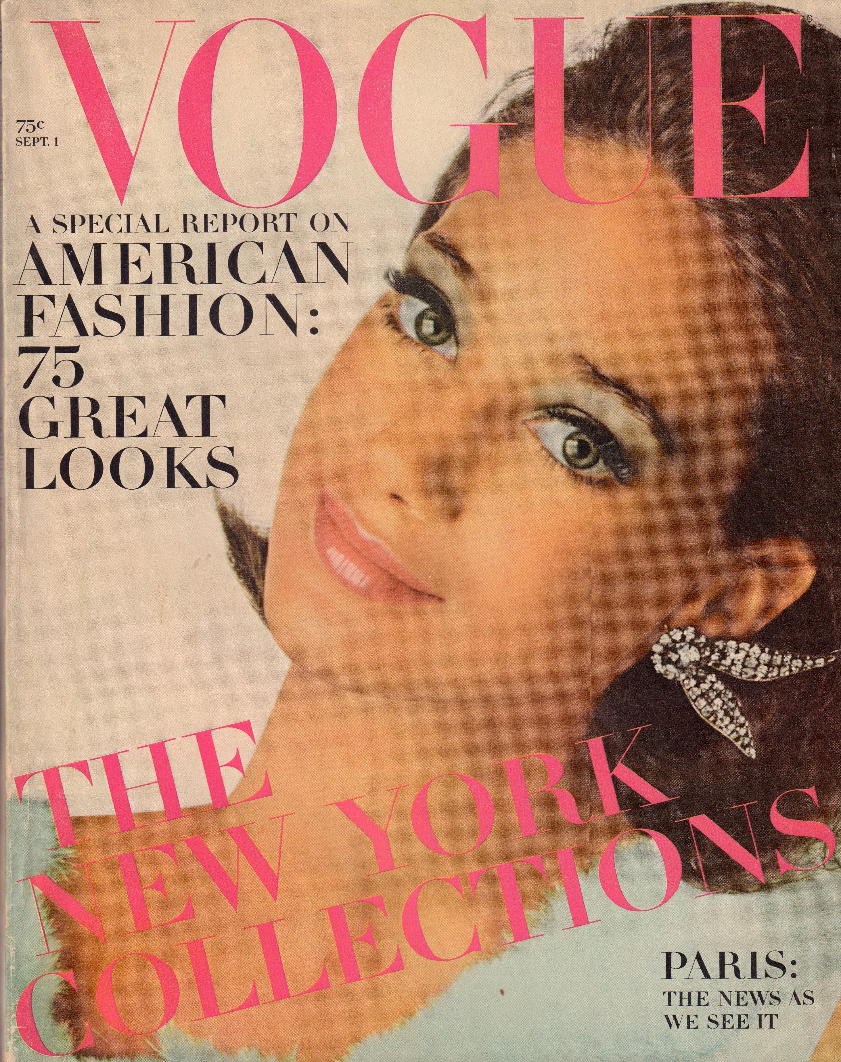 "Image for ""Vogue Magazine. September 1, 1965"""
