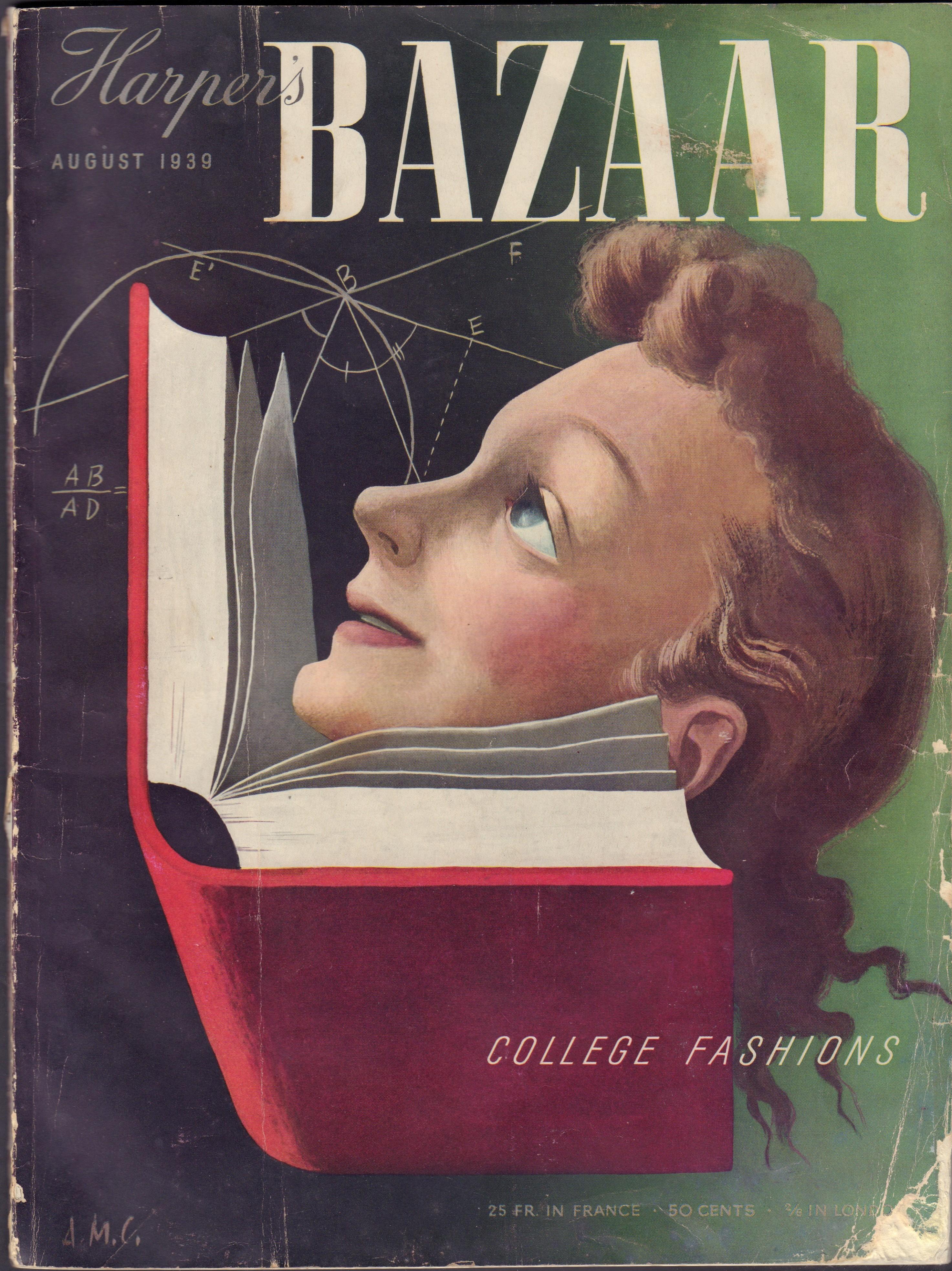 Image for Harper's Bazaar August 1939