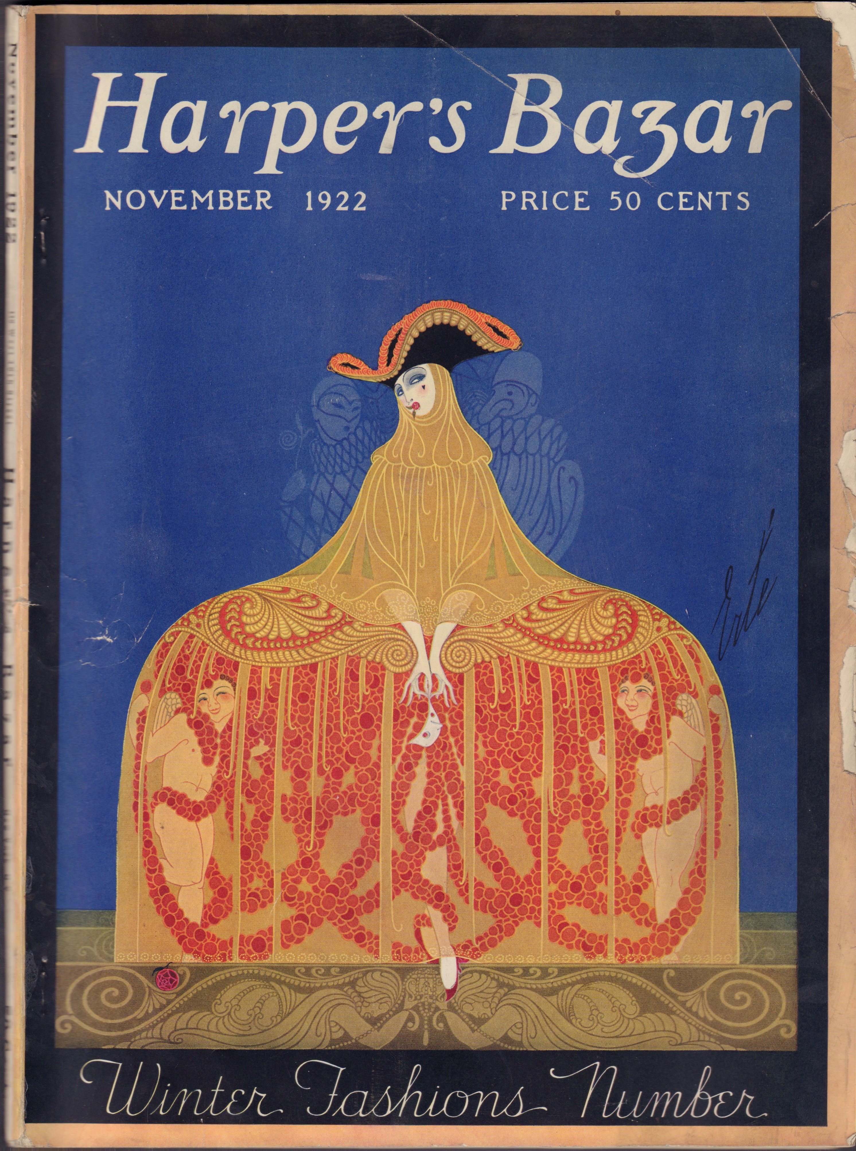 Image for Harper's Bazar November 1922